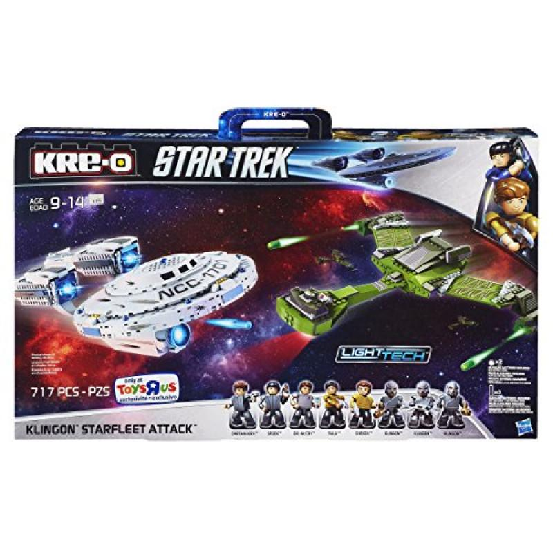 KRE-O Star Trek Klingon Starfleet Attack by