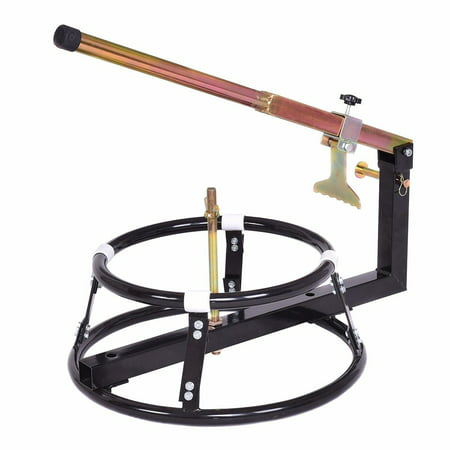 Gymax Portable Motorcycle Bike Tire Changer/ Bead Breaker 16''+ Wheels (Motorcycle Tyre Changer Workshop Bead Breaker Stand)