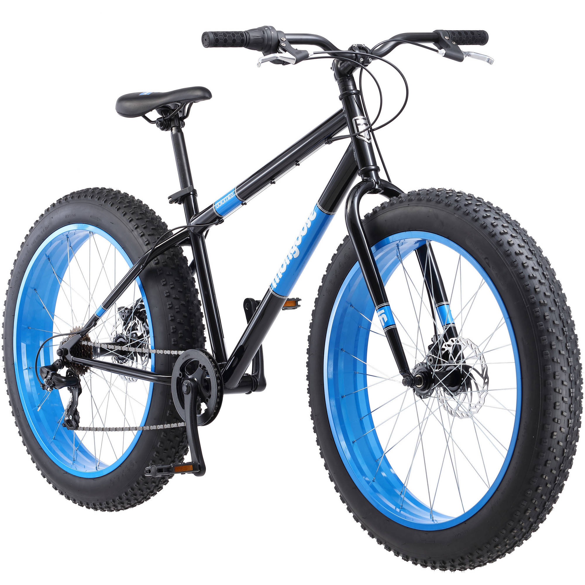 "26"" Mongoose Dolomite Men's Fat Tire Bike, Black"