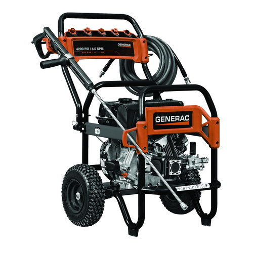 Generac 6565 4,200 PSI 4.0 GPM Commercial Gas Pressure Washer