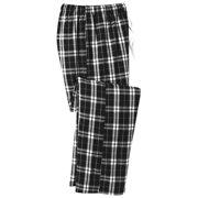 District Men's Flannel Plaid Elastic Waistband Pant