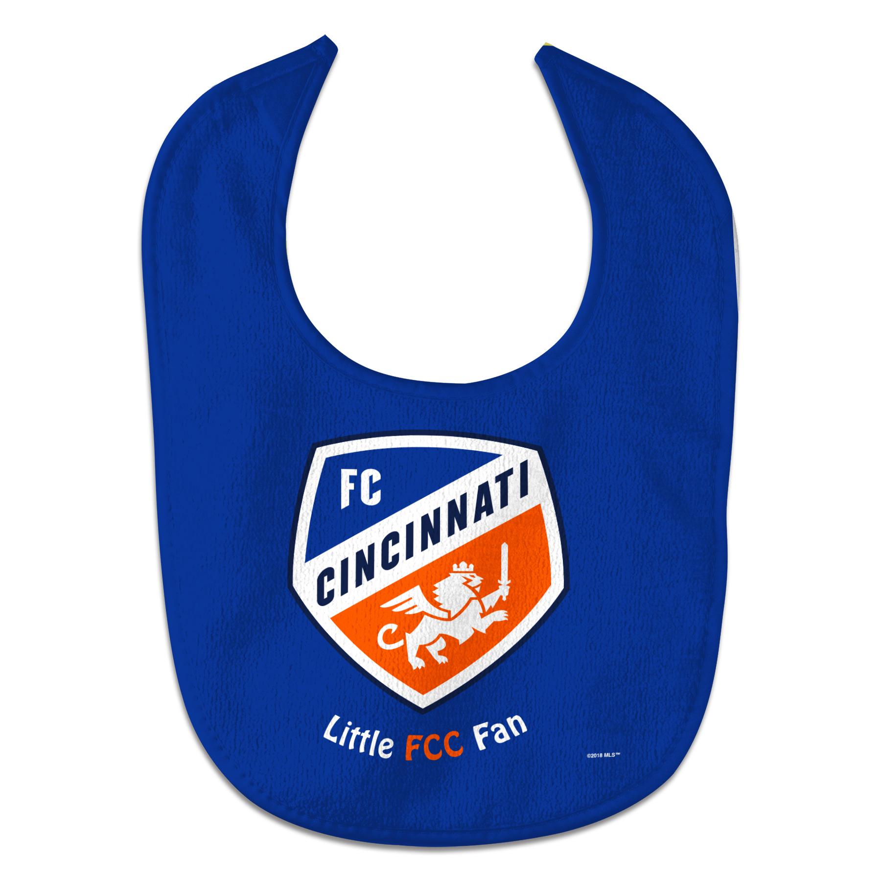 FC Cincinnati WinCraft All-Pro Baby Bib - No Size