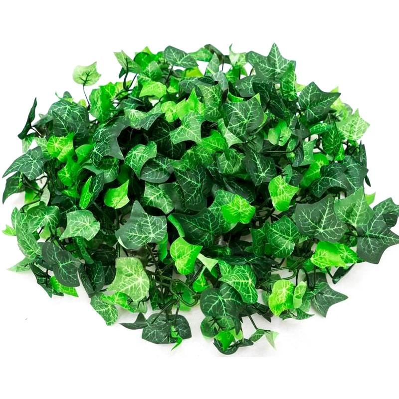 BalsaCircle 6 feet Long 3D Chain Artificial Greenery Garland Wedding Party - English Ivy