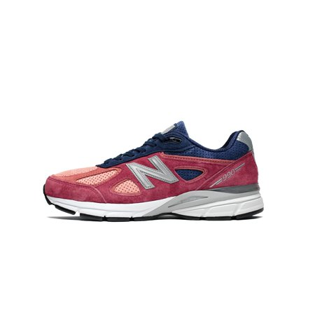 super popular a3071 d5436 Mens New Balance 990 V4 Made In USA Red Navy Grey White Black M990CP4