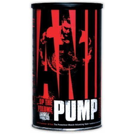 Animal Pump, Créatine pré-entraînement, 30 paquets, De Universal