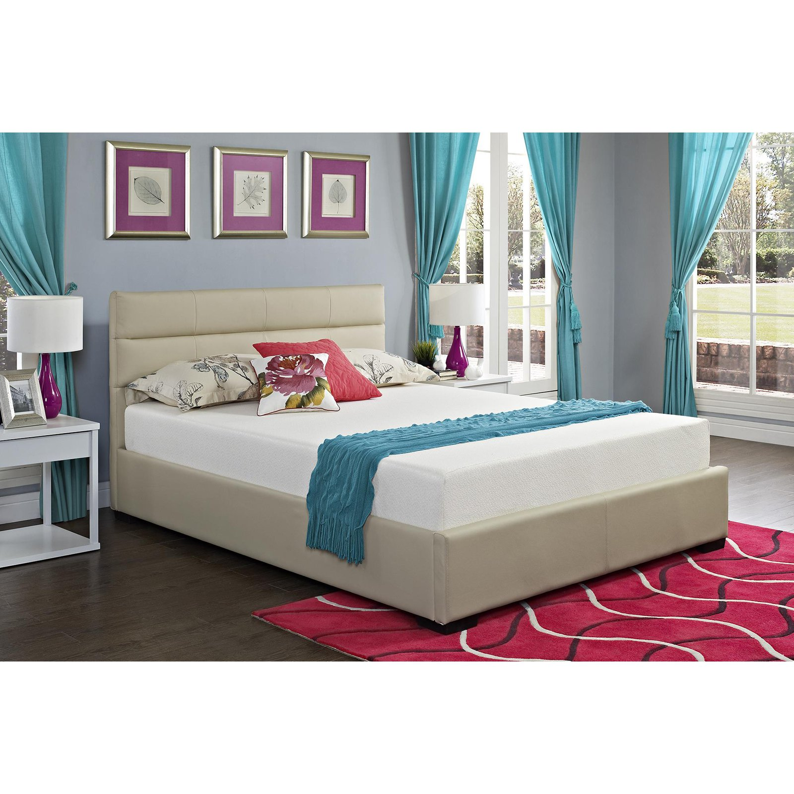 Signature Sleep Silhouette 8 in. Memory Foam Mattress