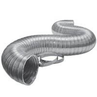 Lambro Industries 3110 3X8 Alum Flex Duct W/Clamp
