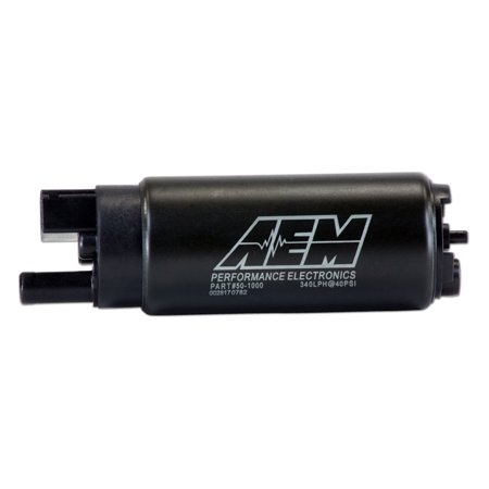 AEM PERFORMANCE ELECTRONICS 50-1000 320LPH HIGH FLOW IN-TANK FUEL PUMP(OFFSET INLET, INLINE) . 320LPH@43PSI. INCL: U