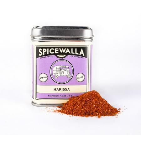 Spicewalla Harissa Spice Blend 4.2 oz   Non-GMO, No MSG, Gluten Free   North African Spice Seasoning   Chili Powder, Garlic, Paprika, Caraway, Coriander, Cumin, Salt