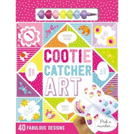 Cootie Catcher Art - Halloween Cootie Catchers