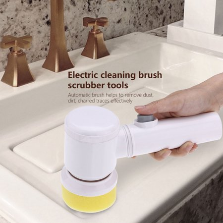 Yosoo Battery Powered Cordless Electric Cleaning Brush