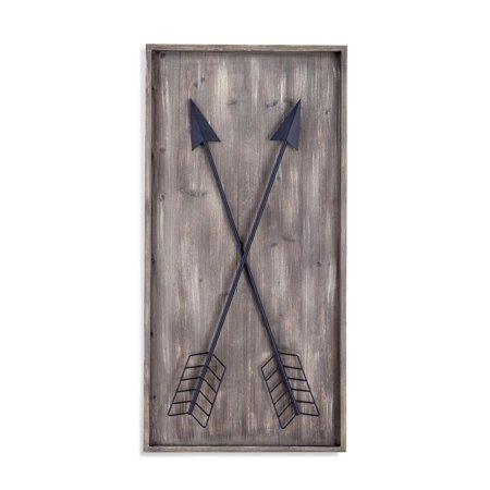 - Bassett Mirror Arrows Wall Plaque Canvas Art