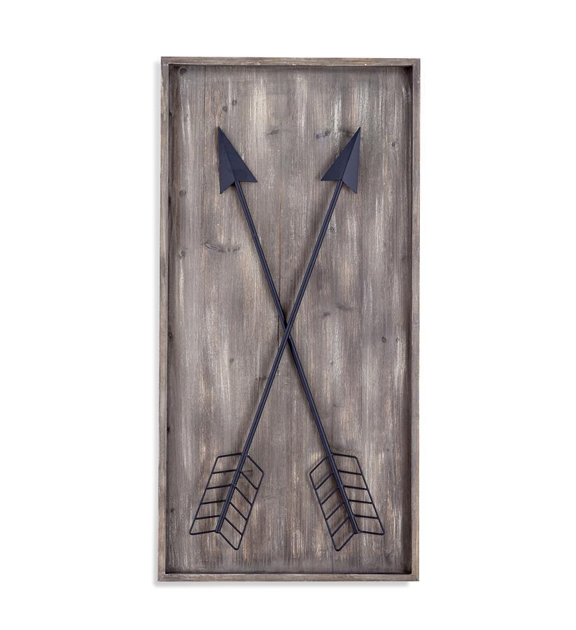 Bassett Mirror Arrows Wall Plaque Canvas Art