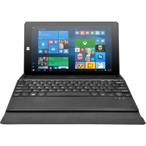 "Refurbished Ematic EWT935DK 8.75"" Tablet 32GB Intel Atom x86 Quad-Core, includes Keyboard"