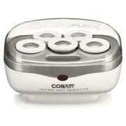 Conair Jumbo Hair Roller Travel Hair set with Clips for Curls and Waves