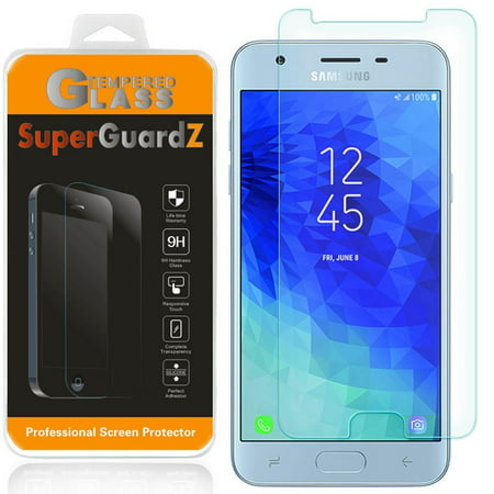 SuperGuardZ Tempered Glass Screen Protector For Samsung Galaxy J7 (2018) / J7V (2nd Gen, 2018) / J7 Star ()