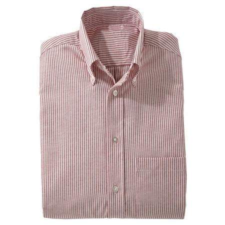 4a9959698 Ed Garments - Ed Garments Men's Big And Tall Short Sleeve Oxford Shirt,  BURGUNDY STRIPE, XXXX-Large Tall - Walmart.com