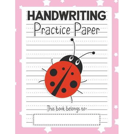 handwriting practice paper notebook blank writing sheets pre k kindergarten preschool up. Black Bedroom Furniture Sets. Home Design Ideas
