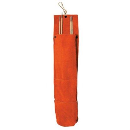 75 Rod Bags, 5 Lb Capacity, Side Split Cowhide,