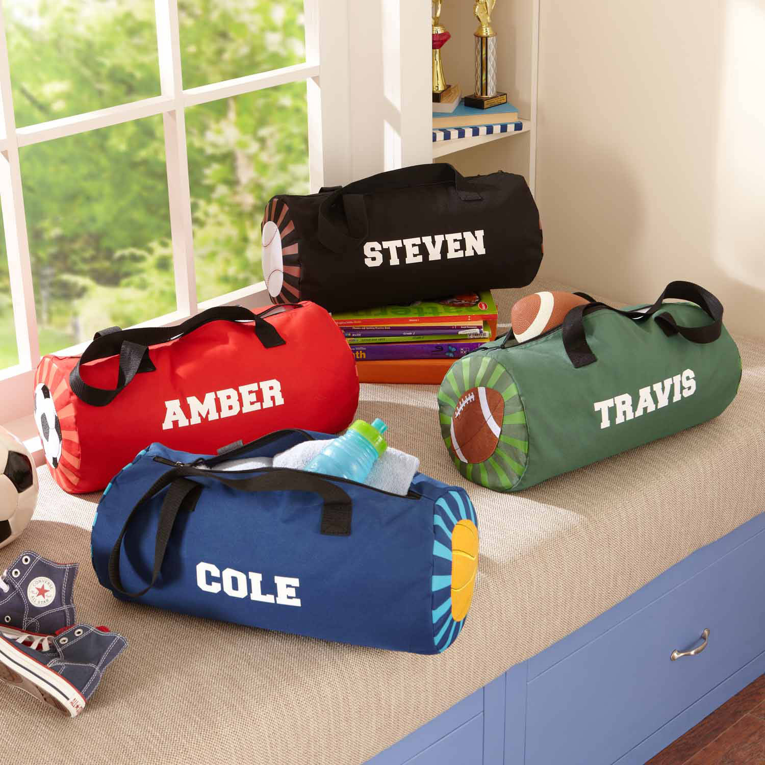Personalized Game Day Duffle Bag, Available in 4 Designs
