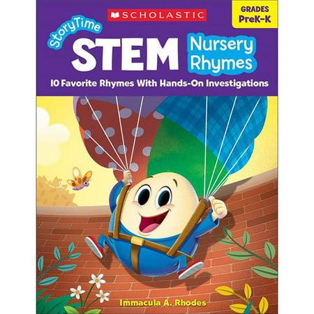 Scholastic Teaching Resources SC-831696BN Storytime STEM, Grade Prek-K - Pack of 2 - image 1 of 1