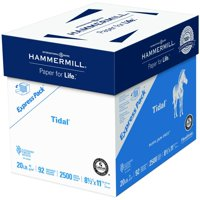 Hammermill Paper, Tidal Printer Paper, 8.5 x 11 Paper, Letter Size, 20lb, 92 Bright - 1 Express Pack / 2,500 Sheets (163120C)