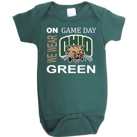 (Ohio Bobcats On Game Day Baby Onesie)