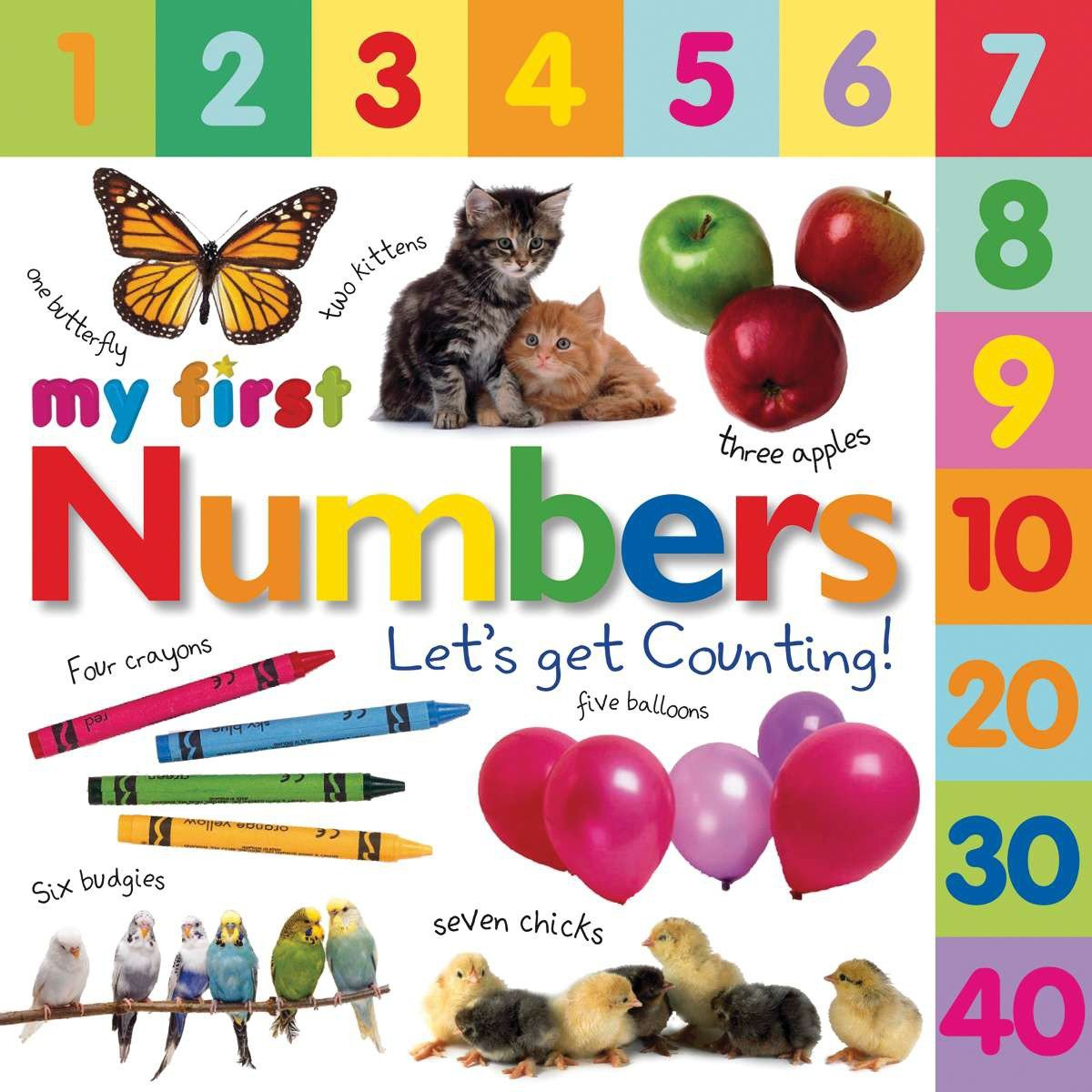 My 1st Numbers Lets Get Counting (Board Book)