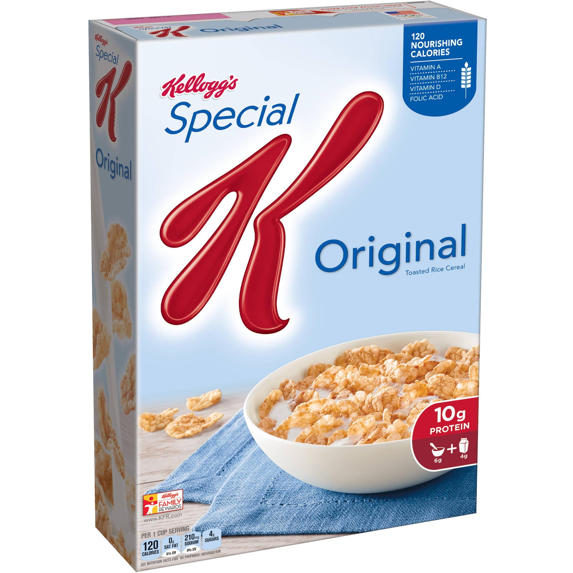 Kellogg S Original Special K Cereal 12 Oz Walmart Com