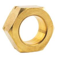 "3/4"" Compression Nut & Ferrule Combo for 3/4"" OD Tube Brass Captive Sleeve Nut"