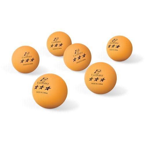 Eastpoint Sports 40mm 3-Star Orange Table Tennis Balls - 6 pack