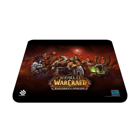 SteelSeries QcK Gaming Mouse Pad - Warlords of Draenor