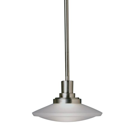 Kichler Structures Pendant Light - 12W in. Brushed Nickel