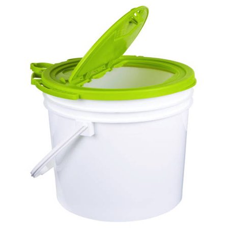 Flambeau Outdoors 3.5-Gallon Minnow Bucket Trolling Bait Bucket