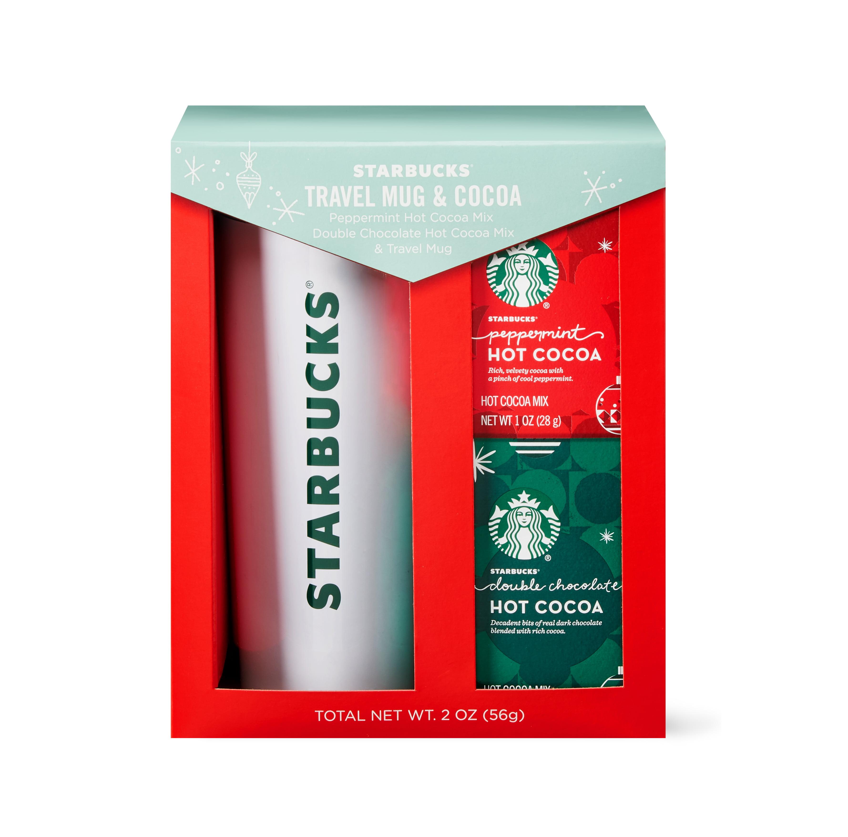 Starbucks® Cocoa & Travel Mug Holiday Gift Set 3 pc box