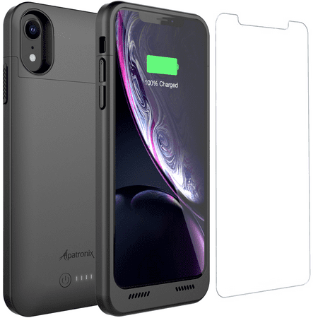 Alpatronix BXXr 5000mAh iPhone XR Battery Case with Qi Wireless