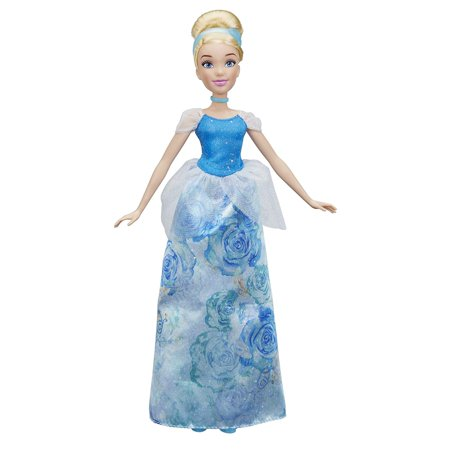 Signature Shimmer - Disney Princess Royal Shimmer Cinderella Doll, Doll features a shimmering gown in her signature color By Hasbro