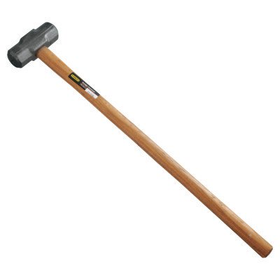 STANLEY HICKORY HANDLE SLEDGE HAMMER   8 LBS