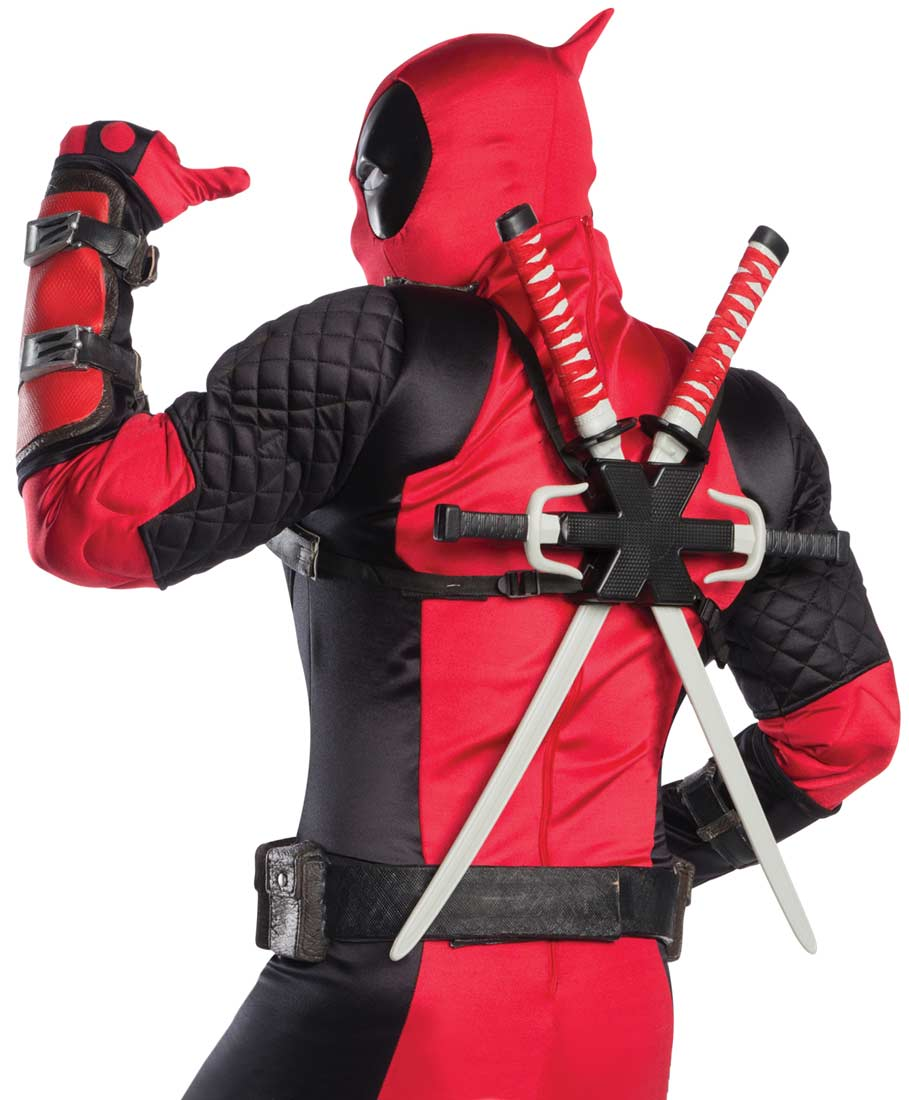 Authentic deadpool costume for adults walmart solutioingenieria Images