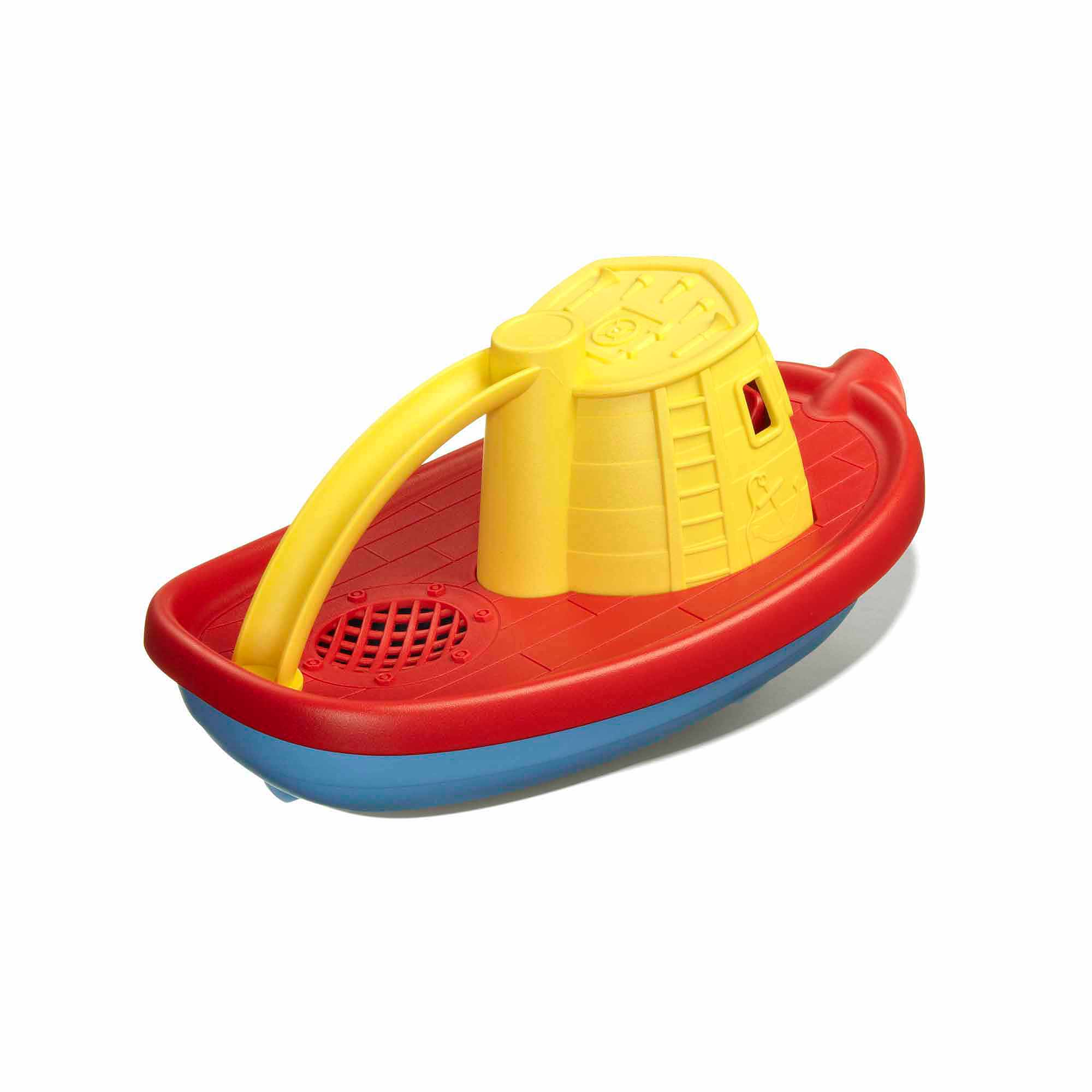 Green Toys Tug Boat Bath Toy, Yellow Top - Walmart.com