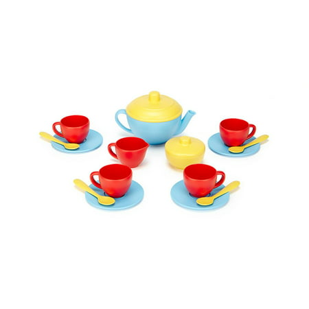 Green Toys Tea Set - Blue Blue Tea Set