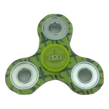 Disney Toy Story Alien Tri Printed Fidget Spinner Stress & Anxiety Reducer Hand Spinner - Fidget Spinner Toy Story Alien