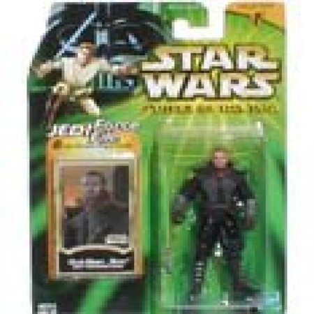 Star Wars Power of the Jedi - Jedi Training Gear Qui-Gon Jinn Action