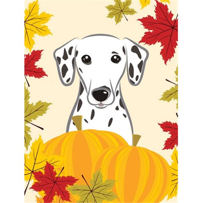 Dalmatian Thanksgiving Flag Garden