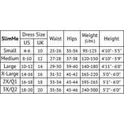 2a92ed12a SlimMe Patrona High Waist Thigh Shaper - Shapewear by MeMoi Queens 2   Nude  Shapewear Image