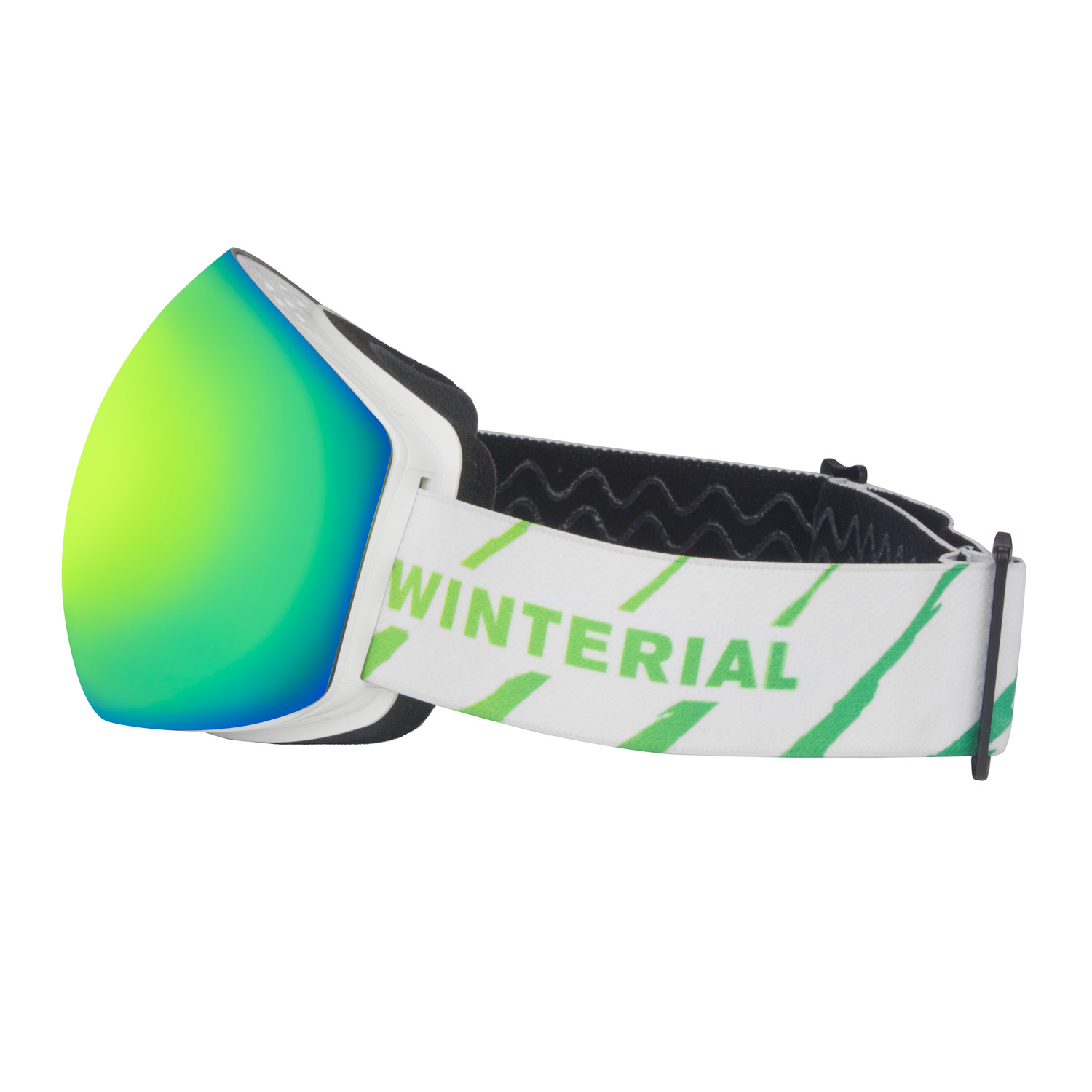Winterial Frameless Snowboard   Ski Goggles + Removable Lens by Winteiral