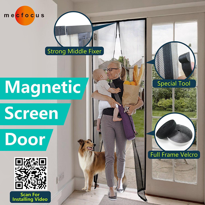 Mecfocus New Magnetic Screen Door 433x945 Max Width And Length
