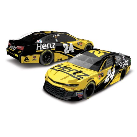 William Byron Action Racing #24 2018 Monster Energy NASCAR Cup Series 1:64 Hertz Die-Cast Chevrolet Camaro ZL1 - No Size