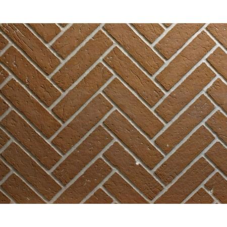 Ceramic Fiber Liner for Keystone Fireplace - Herringbone - Herringbone Brick Liner Kit