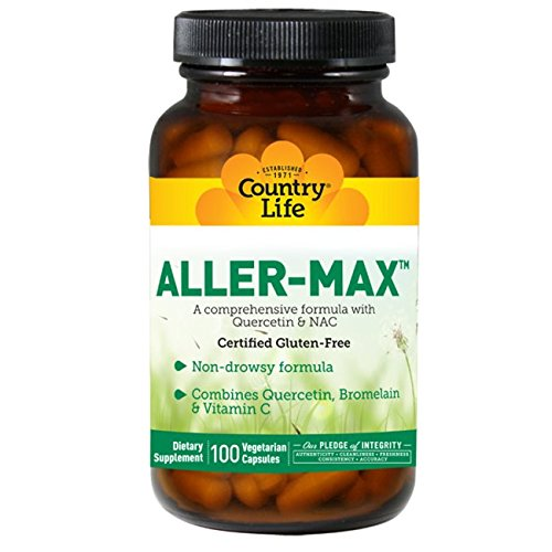 Country Life Aller-Max, Vegetarian Capsules, 100-Count